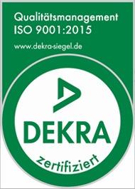C-P-S ausgezeichnet mit dem Qualitätsmanagement durch DEKRA